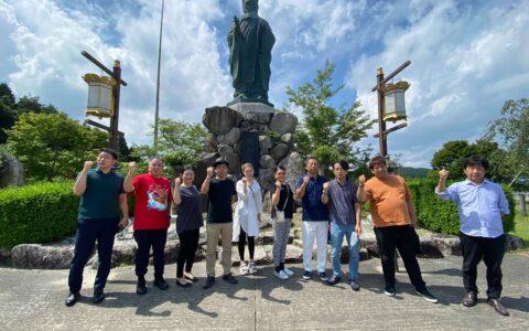 【8月】比叡山で「夢筆」を祈願いたしました。